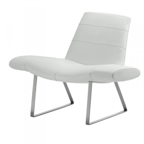Designerski fotel do nowoczesnych wnętrz Mies 415