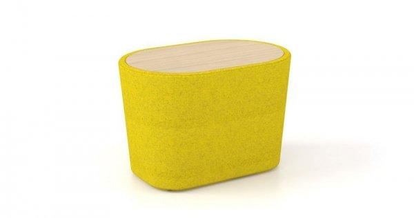 Woodmoss stołek stolik pojedynczy OXYO