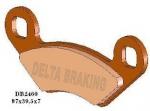 Klocki hamulcowe Delta DB 2460 Polaris Sportsman