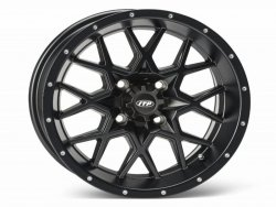 HURRICANE 14x7 4/156 4+3 1428638536B Matte Black