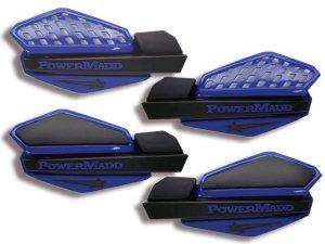 Osłony na dłonie POWER MADD Yamaha Blue/Black