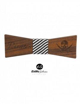 Męska mucha drewniana Estilo Sabroso Es04357