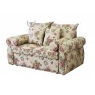 Sofa w kwiaty stylowa rozkładana English Rose 160 cm