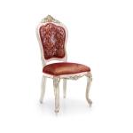 Ekskluzywne krzesło w stylu włoskim Cresta