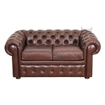 Czekoladowa sofa Chesterfield Retro 170 cm
