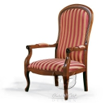 Elegancki fotel z wysokim oparciem Cambridge