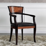 Krzesło orzech do gabinetu Radica