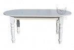 Biały stół z kolekcji Retro Scandinavia Bianco