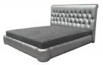 Pikowane łóżko Kendra materac 200x200 cm