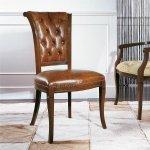 Pikowane krzesło w stylu angielskim Paris