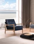 Fotel w stylu hampton Kristen