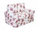 Prowansalska sofa Flower 146 cm