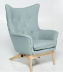 Fotel pikowany z funkcją relax Scandi