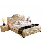 Pikowane ekskluzywne łóżko Eleonor
