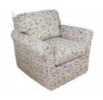 Fotel niski ściągany pokrowiec Marie