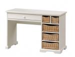 Oryginalne biurko z koszami wiklinowymi Mimbre NO.06