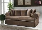 Luźny pokrowiec, lamówk sofa SAMANTHA