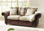 Sofa 2-osobowa w stylu kolonialnym Columbo