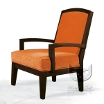 Pomarańczowy fotel Essenzia