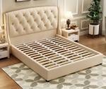 Królewskie łóżko pikowane Acatte