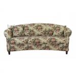 Sofa w róże Maribel 208 cm