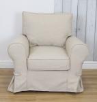 Fotel fartuchowiec stylizowany Adriano fotel