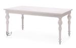 Stół z efektem postarzenia Glam 150x90 cm