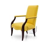 Żółty fotel najmodniejszy w tym sezonie Luna