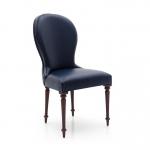 Krzesło toczone nogi, panka i sprężyny w siedzisku Aida