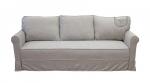Lniana sofa wersalka bez funkcji spania Flower WER 220 cm/FS
