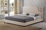Łóżko w stylu skandynawskim Cordero