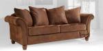 Sofa 2 osobowa piękna tkanina skóropodobna ITALY