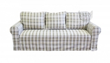 Klasyczna sofa ze zdejmowanym obiciem Flower 246/FS, bok 23 cm