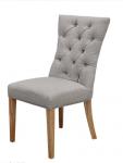 Krzesło z pikowanym oparciem Figaro