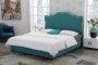 W stylu romantycznym łóżko Katerina 180x200 cm