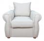 Fotel stylizowany wygodny English Rose