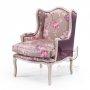 Fotel orientalne barwy Elena