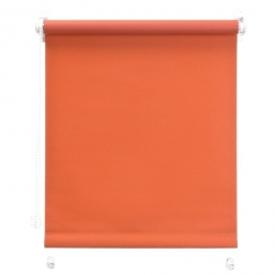 Mini roleta z żyłką - Pomarańczowy (Dimout)