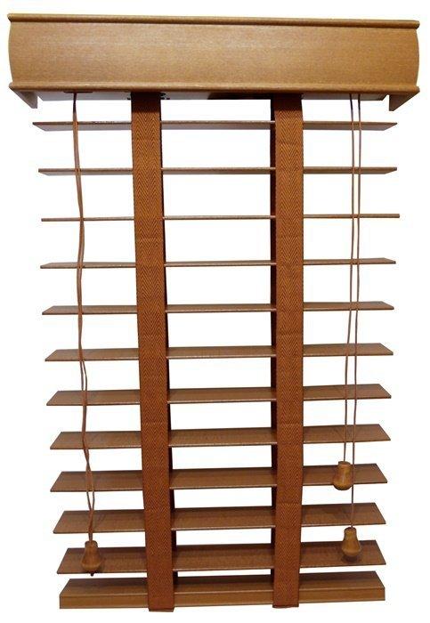 Żaluzja Drewniana, 50mm, na Wymiar