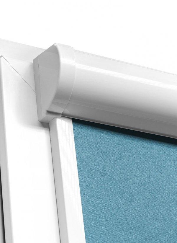 System rolet w kasecie Vario Plus Large prezentuje się bardzo efektownie na niemal każdym oknie