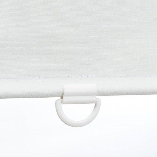 Mini roleta Samozwijająca - Biały (Dimout)