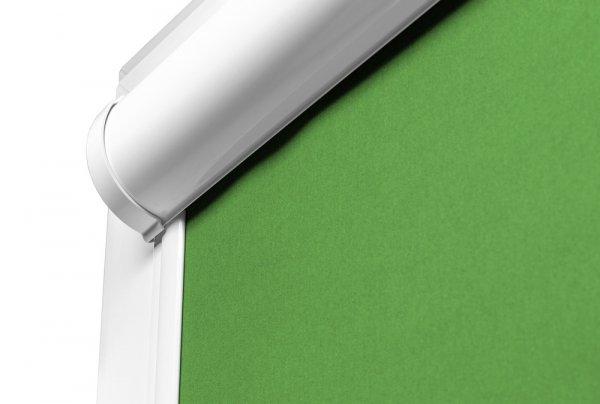 Elegancka Puszka kasety Vario Lux pozwala zmieścić więcej tkaniny niż w tradycyjnych systemach.