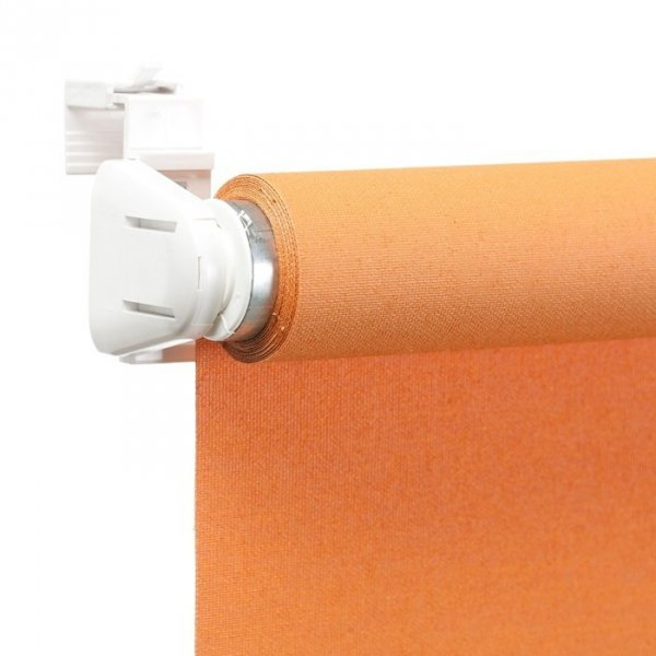 Mini roleta Samozwijająca - Pomarańczowy (Carina)
