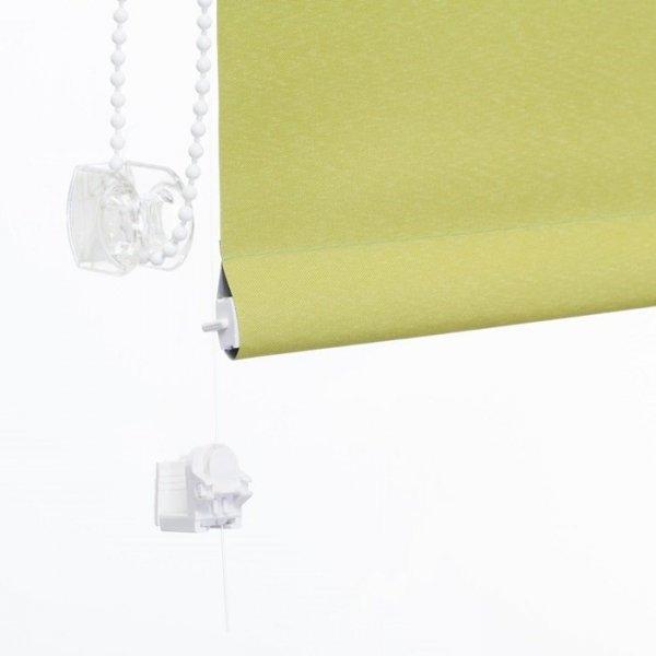 Mini roleta z żyłką Thermo - Groszkowy (Silver)