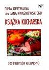 Dieta optymalna Książka Kucharska