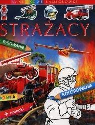 Strażacy Naklejkowe łamigłówki