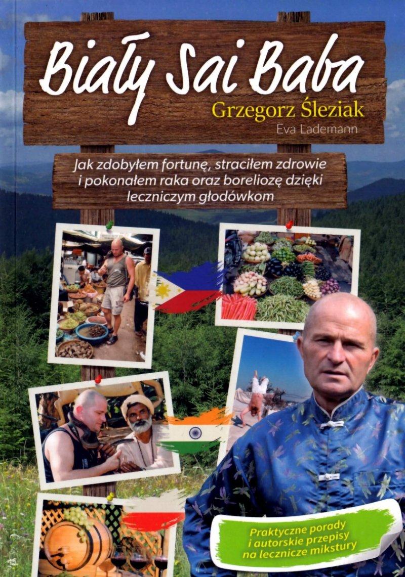 Biały Sai Baba Grzegorz Śleziak