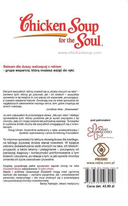 Balsam dla Duszy walczącej z rakiem