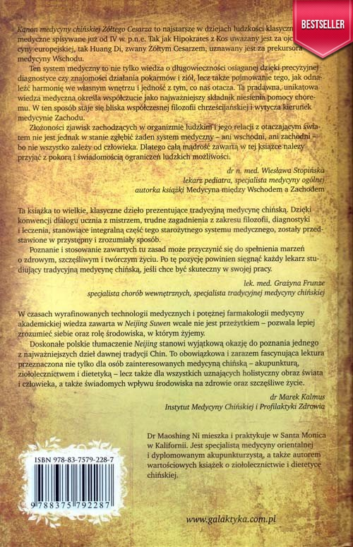 Kanon medycyny chińskiej żółtego cesarza