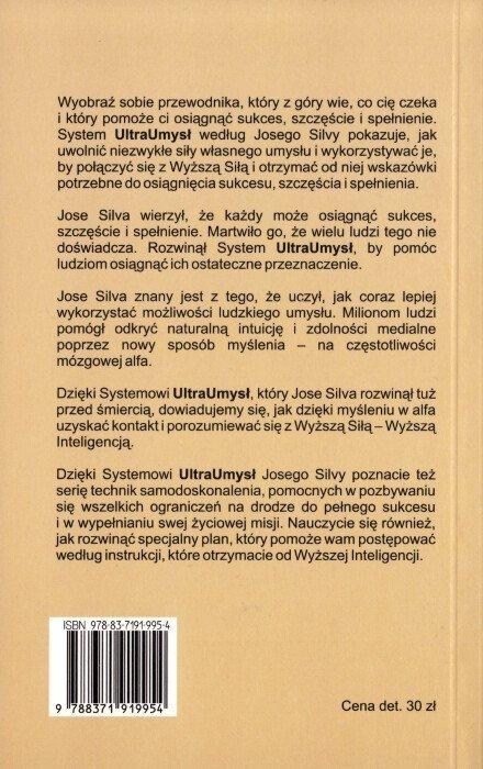Ultraumysł według Jose Silvy